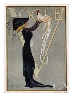 Vogue Cover - July 1910 Poster Print at the Condé Nast Collection