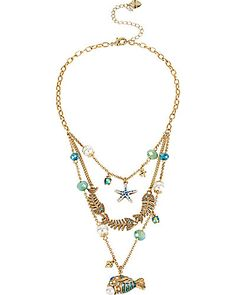 Into the Blue Illusion Necklace
