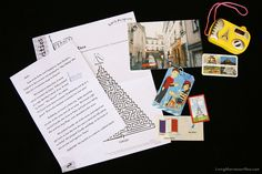 Contents of the Little Passports France Package by Deb Chitwood, via Flickr