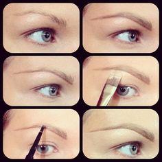 Makeup : DIY EYEBROW MAKEUP Makeup tips and ideas