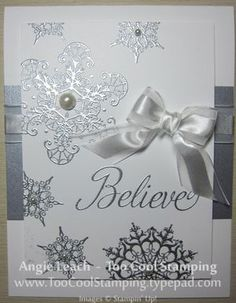 Snowflake Soiree in Silver & White