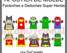 Apostila Digital Fantoches Super Heróis