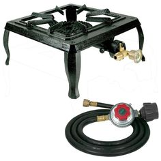 """""""This is my second purchase of this make and model of this burner. Puts out a very nice, easy to control flame, I actually prefer this burner to the full stove inside my RV. This unit is small enough to be easily stored while traveling and sets up for the next gourmet meal quickly and easily."""" --Home Depot customer """"John"""""""