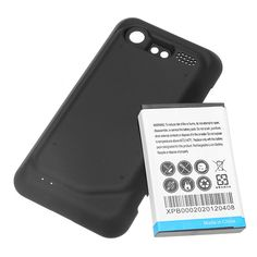 3500mAh Battery+Black Cover For HTC DROID INCREDIBLE 2 ADR6350