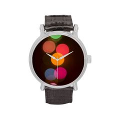Colorful Dots Watch