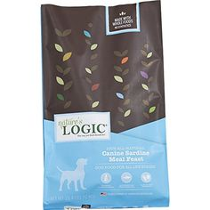 Nature's Logic Dry Sardine for Dog, 26.4 lb, 1 Pack -- You could find out more details at the link of the image. (This is an affiliate link and I receive a commission for the sales)