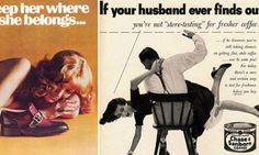 'Show her it's a man's world': American adverts from the Mad Men era reveal the shocking sexism upon which brands were built