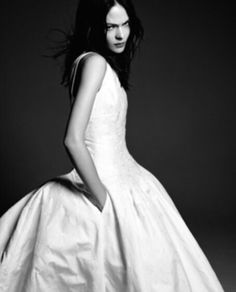 Kinga Rajazk by Gregory Harris for Dior Magazine Winter 2014