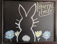 Here is a little inspiration for your Easter chalkboard art! It is super easy and so much fun! Check out my link to see more Easter decorations and this chalkboard art! Summer Chalkboard Art, Chalkboard Doodles, Chalkboard Art Quotes, Blackboard Art, Chalkboard Decor, Chalkboard Print, Chalkboard Drawings, Chalkboard Designs, Chalk Drawings