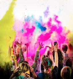 Festival de colores
