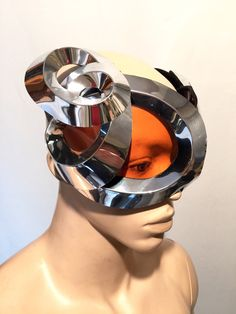 Organic goggles with horns futuristic, sci fi, cyber eyewear, mask, goggles,alien mask