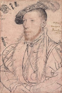 William Parr, c.1540  1st Marquess of Northampton, 1st Earl of Essex and 1st Baron Parr,   was the son of Sir Thomas Parr and his wife, Maud Green. William Parr was brother the Queen consort, Catherine Parr, the sixth and final wife of Henry VIII, and Anne, Countess of Pembroke.