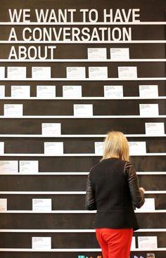 Conversation Wall | Daily tous les jours