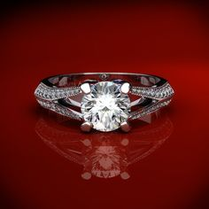 Engagement rings based on your personality. Vintage ring for the idealistic or romantic woman.