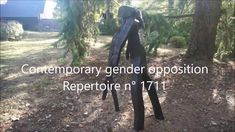 Contemporary gender opposition - repertoire n° 1711 - by Philippe Chesneau - cedar squared and burned - dim. H 140 x L 98 x P 55 cm French Sculptor, Gender, Contemporary, Music Genre