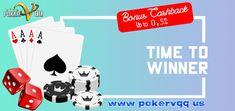 Selamat datang di salah satu Situs Poker Online terbaik di Indonesia, POKERVQQ hadir memberikan promo deposit yang sangat terjangkau. hanya dengan minimal Rp.10.000 anda sudah dapat memenangkan jutaan hingga ratusan juta rupiah .. Dan nikmati bonus Cashback sampai 0,5% setiap harinya. Join dan raih bonus bonus jackpot di dalam nya.