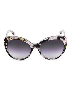 Floral cat-eye sunglasses | Dolce & Gabbana | MATCHESFASHION.COM