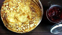 Pullahiiren päiväunia: Lettutaikina Hummus, Pancakes, Baking, Breakfast, Ethnic Recipes, Food, Morning Coffee, Bakken, Essen
