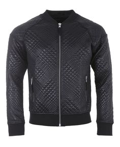 Blood Brother - Leather Gator Jacket - Black - $200.00