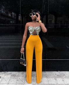 African fashion and life styles Black Fashion Bloggers, Fashion Blogger Style, Black Women Fashion, Look Fashion, Womens Fashion, Fashion Trends, Fashion Killa, Fashion Night, Fashion Spring