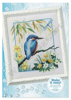 """Photo from album """"Cross Stitch Collection 207 март on Yandex. Butterfly Cross Stitch, Cross Stitch Tree, Cross Stitch Books, Cross Stitch Animals, Cross Stitch Embroidery, Cross Stitch Designs, Cross Stitch Patterns, Craft Patterns, Quilt Patterns"""