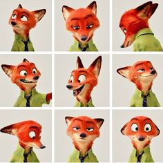 """I am Nick Wilde I live in Zootopia and best """"Cop"""" friends with Judy hops, I might be a little sarcastic ;) But in the end I come thru as a great friend Disney Pixar, Disney And Dreamworks, Disney Animation, Disney Art, Walt Disney, Disney Characters, Animation Movies, Disney Dream, Cute Disney"""
