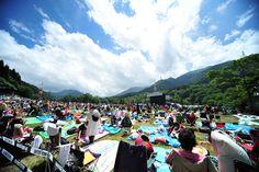 Fujirock festival in Japan