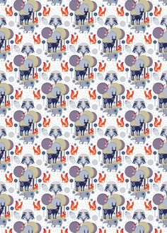 Folklore wrapping paper by Wild & Wolf