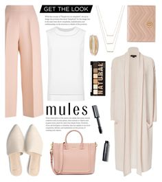 """Slip Em On: Mules"" by glamorous09 ❤ liked on Polyvore featuring Fendi, ThePerfext, St. John, ERTH, NYX, Gucci, Bobbi Brown Cosmetics, Kendra Scott and mules"