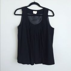 kate spade Tops - Kate Spade pleated front lines tank