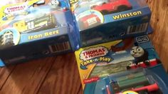 THOMAS & FRIENDS TAKE N PLAY WINSTON WITH SIR TOPHAM HATT