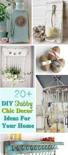 DIY Shabby Chic Decor Ideas For Your Home!