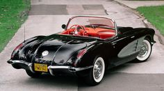 1958 Chevrolet Corvette - 3 - Print Image..Re- pin brought to you by #AgentsofcarIns at #HouseofInsurance #Eugene,Oregon
