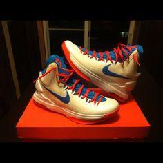 Nike KD V #sneakers #nike