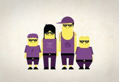 Character Illustrations by Mats Ottdal, via Behance