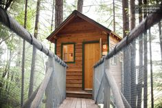 Wanted to show you this awesome treehouse cabin rental that's on Airbnb. It's located in Cave Junction, Oregon and is completely elevated off the ground. As soon as you just look at it it must feel...