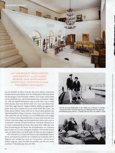 Coco Chanel's Villa La Pausa on the Riviera (Roquebrune)   #CocoChanel #LaPausa Visit espritdegabrielle.com   L'héritage de Coco Chanel #espritdegabrielle