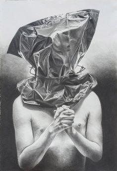 Current exhibition: Philippe Huart – Ceremony / Sacrifice  Philippe Huart, Cérémonie / Sacrifice III 2015, Graphit auf Papier Graphite on paper, 125 x 85 cm