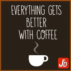 A cup of coffee is refreshing & rejuvenating and can surely make you feel better. Explore the wide variety and rich flavours of coffee with #JustDelivr.http://bit.ly/1JbbzY2