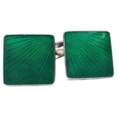 Check out this item at One Kings Lane! Danish Art Deco Sterling Cufflinks