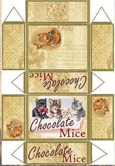 Chocolate mice recortable | Flickr - Photo Sharing!