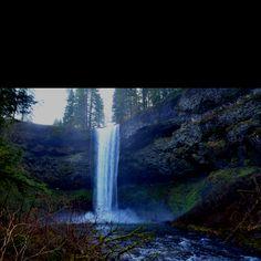 South Falls at Silver Creek Falls Trail