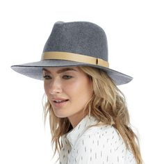 "Sole Society ""tall crown wool hat"", $49.95"
