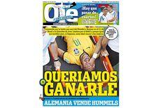 "Mídia argentina lastima nao ter Neymar na Copa - ""queriamos ganarle"" - diz Ole - Blue Bus"