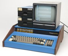 Processor Technology Sol-20 with two floppy disk drives and a video display