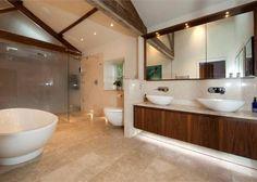Luxury Bathrooms.  This bathroom is HUGE!!!
