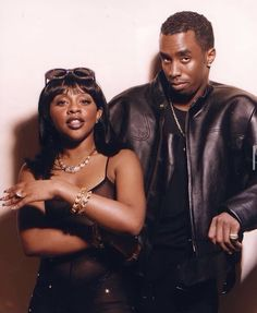 Hip Hop Fashion, 90s Fashion, Bad Boy Entertainment, Cute Black Couples, Foxy Brown, Love N Hip Hop, Romance, Hipster Outfits, Hip Hop Rap
