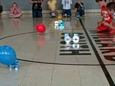 We made balloon cars for our study of force and motion.