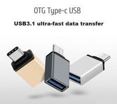 USB Type C USB 3.1 OTG for Xiaomi MI4C Macbook Nexus 5X 6p USB Type C OTG Adapter Data Snyc Charging Cable Type-C USB-C //Price: $US $1.50 & FREE Shipping //     #samsung