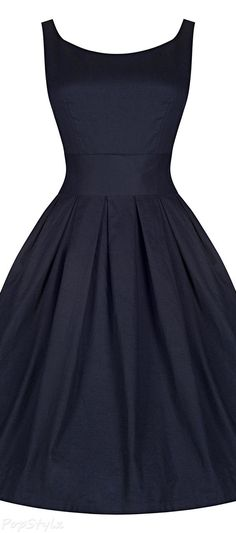 Lindy Bop 'Lana' Vintage 1950's Inspired Swing Dress